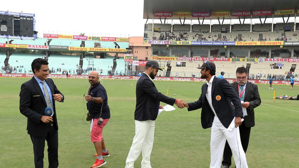 Sri Lanka captain Dinesh Chandimal won the toss and opted to bowl.  (BCCI )