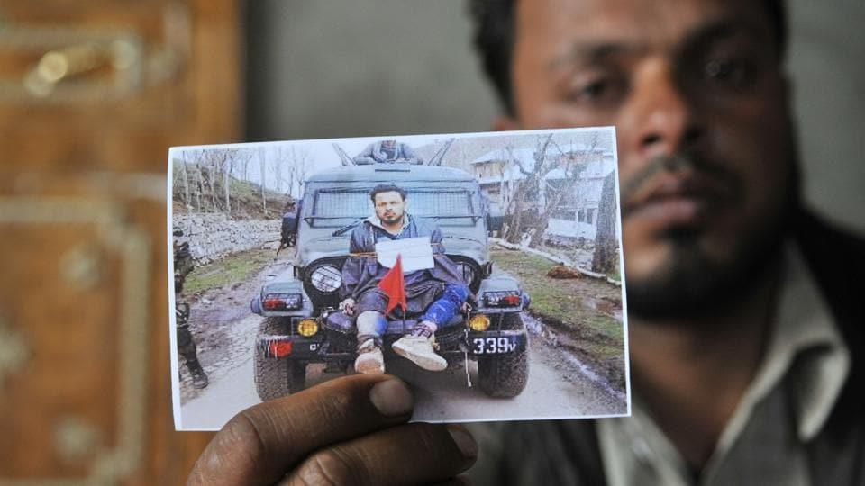 Human shield row,Amnesty International,Farooq Dar