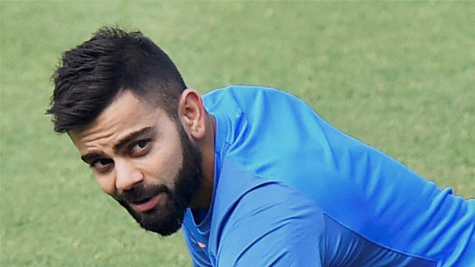Kohli is feisty and expressive on the field. (PTI)