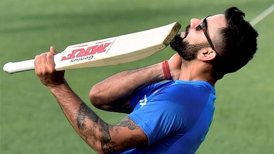 The player with whom Virat Kohli has been compared the most is his idol Sachin Tendulkar. (PTI)