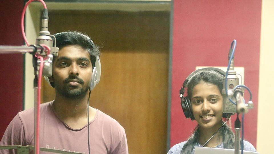 GV Prakash sings a song for Naachiyaar composed by maestro