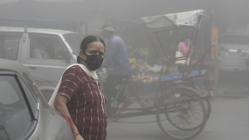 Delhi pollution,Air Quality Index,CPCB