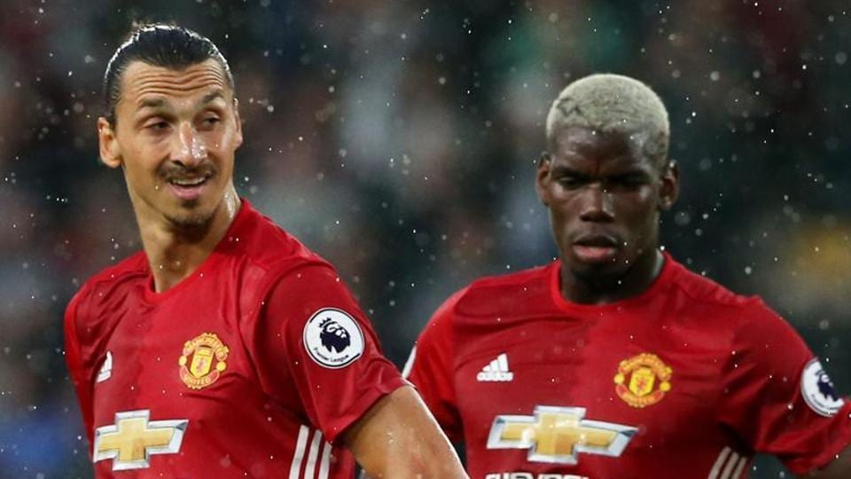 Zlatan Ibrahimovic and Paul Pogba mightplay for Manchester United against Newcastle United in Premier League.