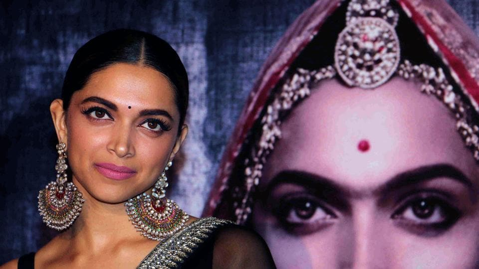 Bollywood actor Deepika Padukone at a promotional event in Mumbai for the forthcoming Hindi film 'Padmavati' directed by Sanjay Leela Bhansali. From fringe political organizations to national parties and royals, various groups have raised a demand for film's ban. Despite Bhansali's clarification that the film respects its titular character and portrayal of Rajputs, protests rage in over eight states at the moment. (AFP)