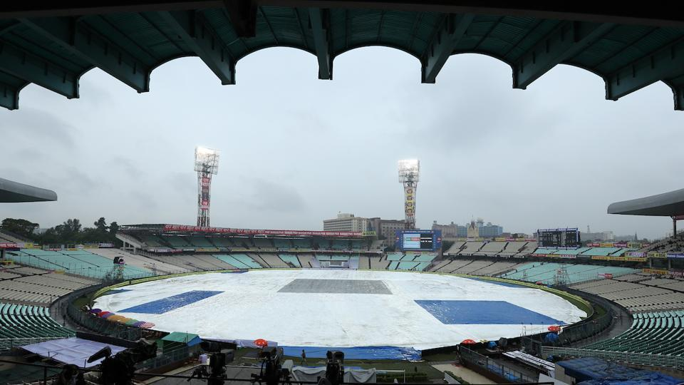 Only 21 overs were bowled on the second day as the wet start to the three-Test series continued. (BCCI )