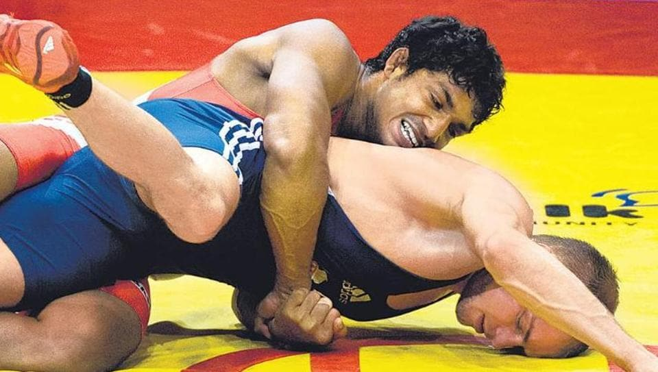 Sandeep Yadav,Narsingh Yadav,Wrestling
