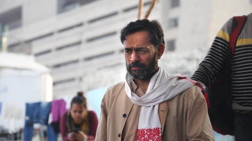 Yogendra Yadav  emerges as the hero in An Insignificant Man.