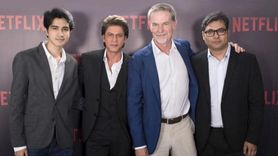 Shah Rukh Khan partners with Netflix for a new original series.