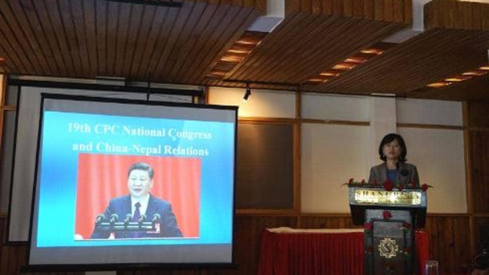 Chinese envoy Yu Hong,Nepal,rail link