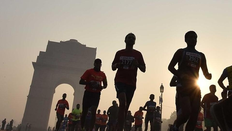 Airtel Delhi Half Marathon,ADHM,Delhi Half Marathon