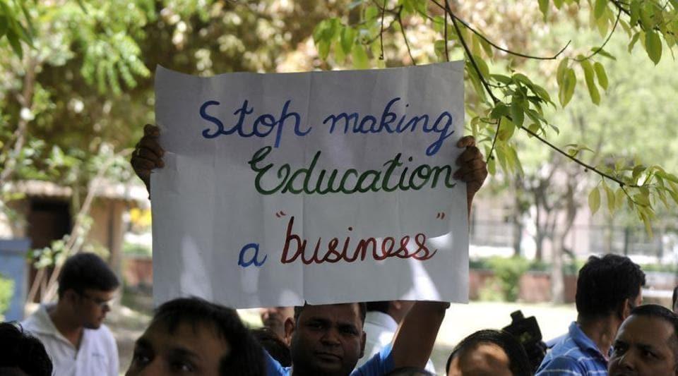 Chandigarh education department,UT education department,Private schools Chandigarh