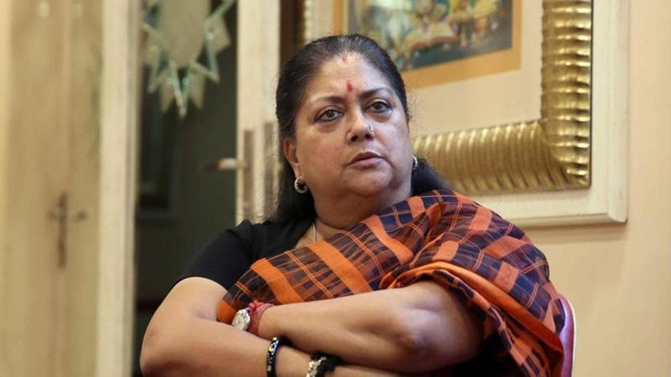 Padmavati movie,Vasundhara Raje,Padmavati protests