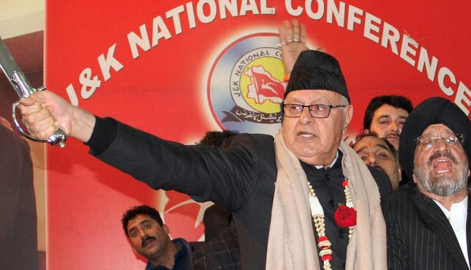Faroow Abdullah,Jammu and Kashmir,Pakistan