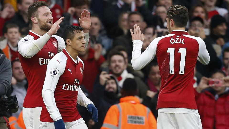 Arsenal F.C.,Tottenham Hotspur F.C.,Premier League