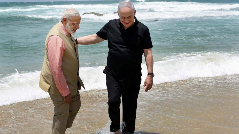 Israel,Benjamin Netanyahu,India