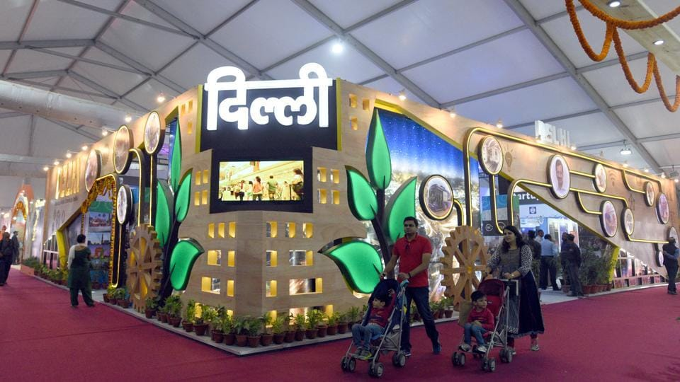 Exhibition Stall Hyderabad : Delhi s trade fair opens for public here what you can