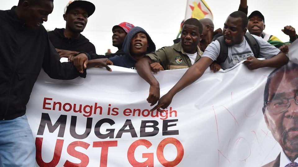 Robert Mugabe,Zimbabwe,Zimbabwe coup