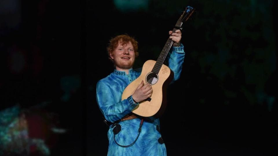 Ed Sheeran said that he would like to come back to India, but next time it won't be for a performance.
