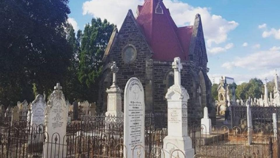 Authorities want people to look at cemeteries with a sense of history.