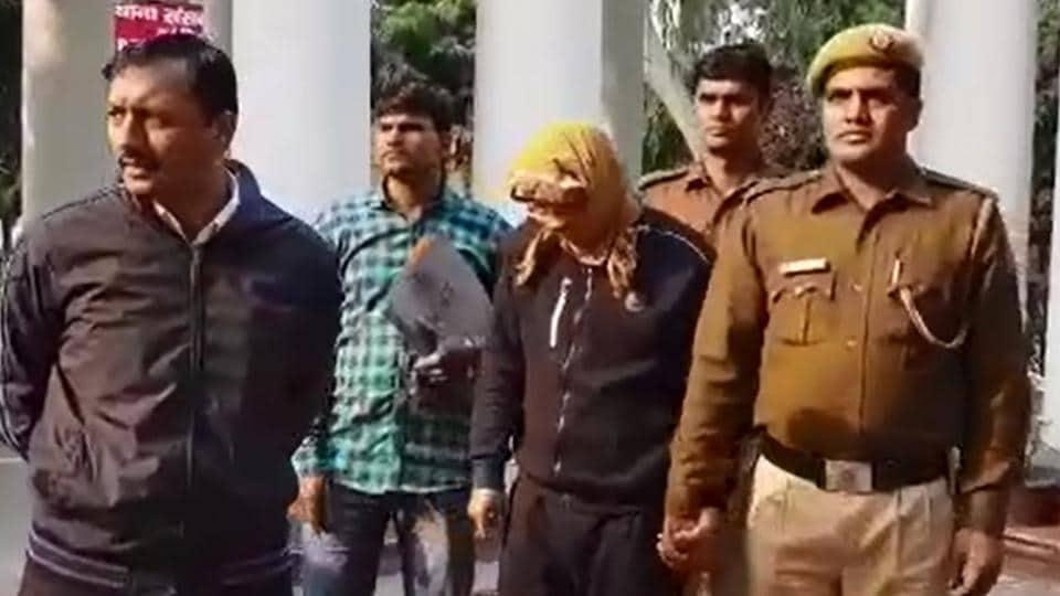 Delhi news,delhi man arrested,law student arrested