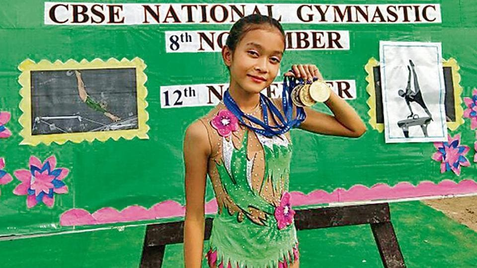 Upasha Niku Talukdar learnt rhythmic gymnastics by watching videos on YouTube of Russian and Ukraninan gymnasts.