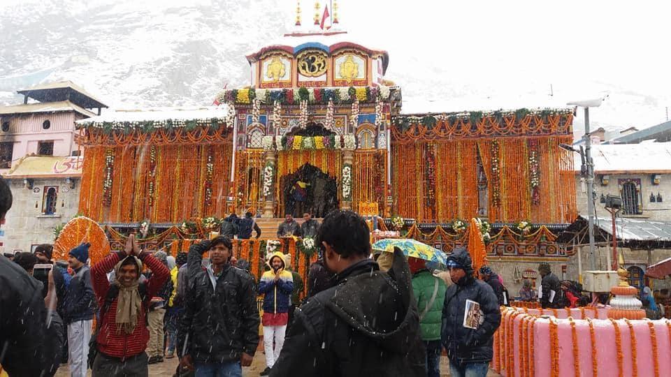 Badrinath shrine,chanting of shlokas,six-month winter break