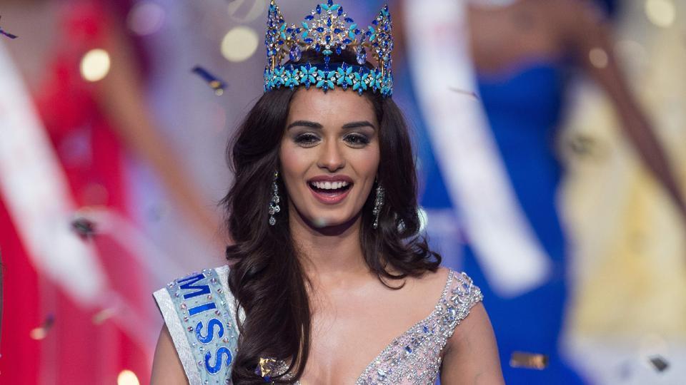 Shashi Tharoor,Manushi Chhillar,Miss World Manushi Chhillar