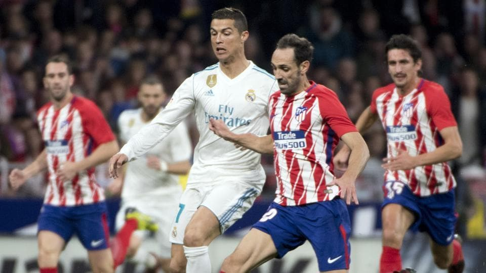 Real Madrid C.F.,Atlético Madrid,La Liga