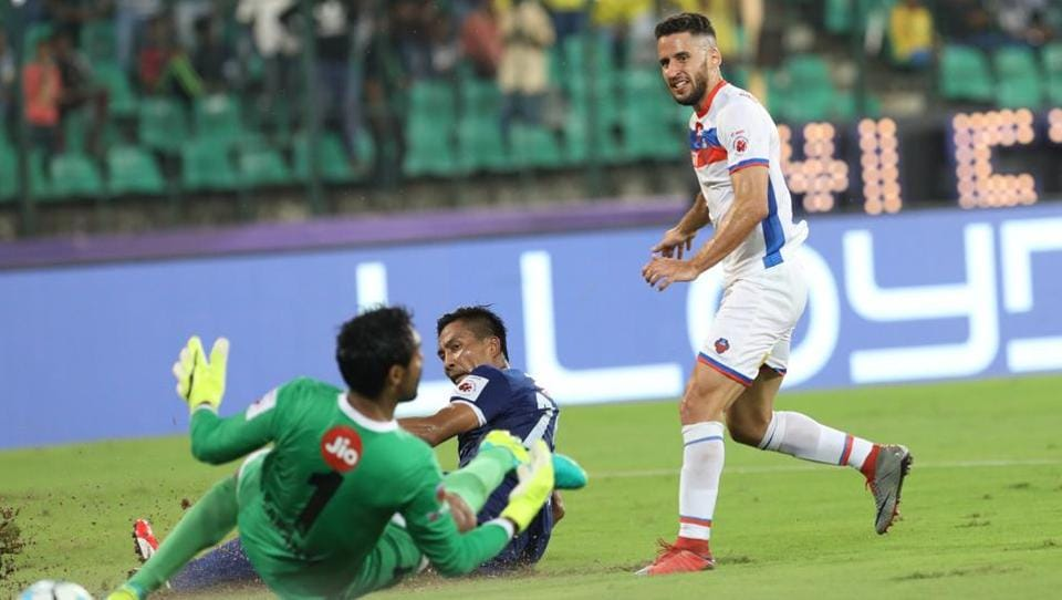In another match, FC Goa defeated Chenniyin FC 3-2. (ISL / SPORTZPICS)