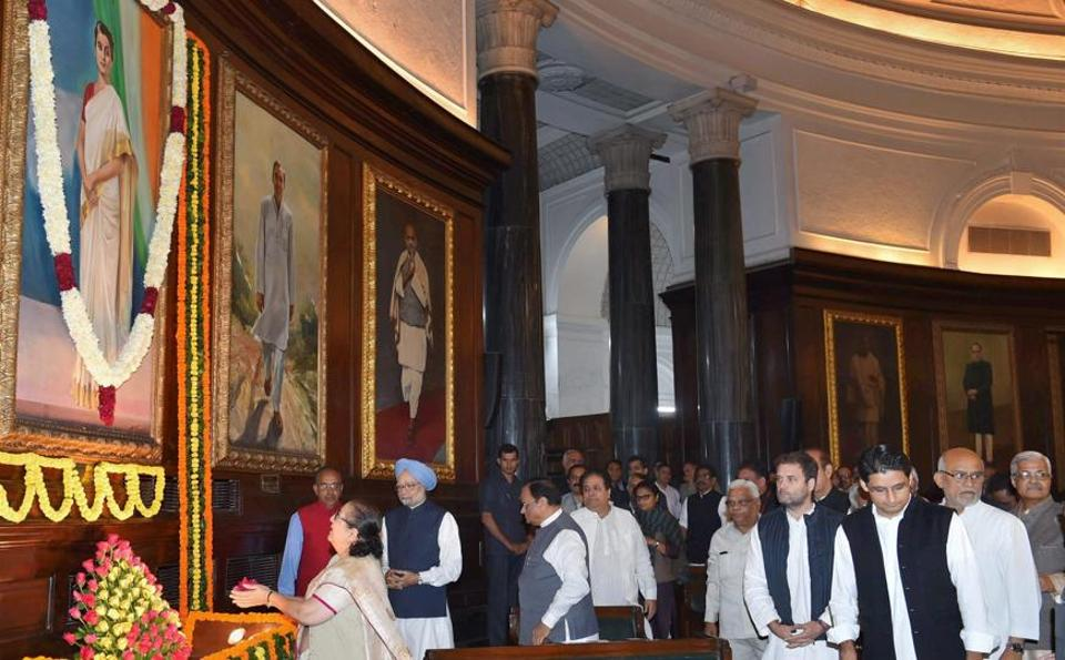 PM Modi pays tributes to Indira Gandhi on her birth anniversary