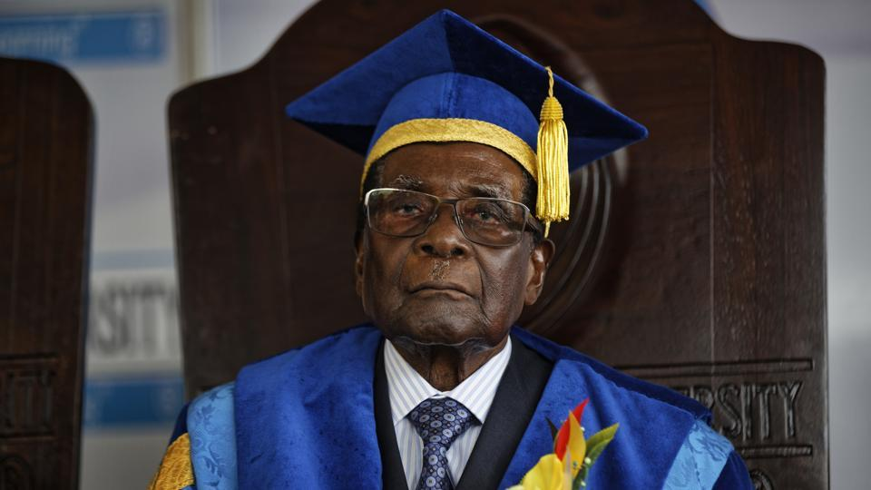 Robert Mugabe,Zimbabwe,Emmerson Mnangagwa