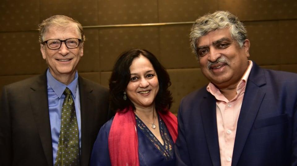Nandan Nilekani,The Giving Pledge,Bill Gates