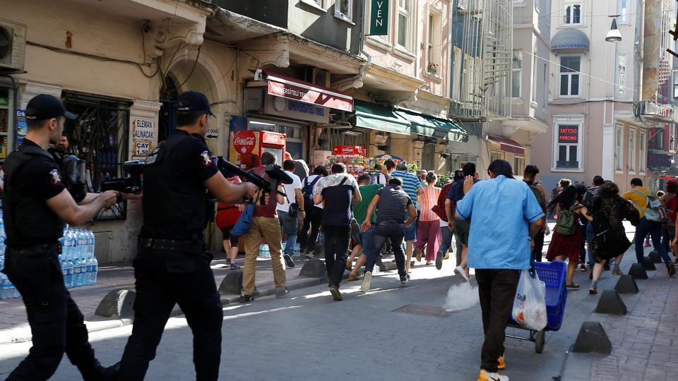 Turkish capital bans public LGBT events