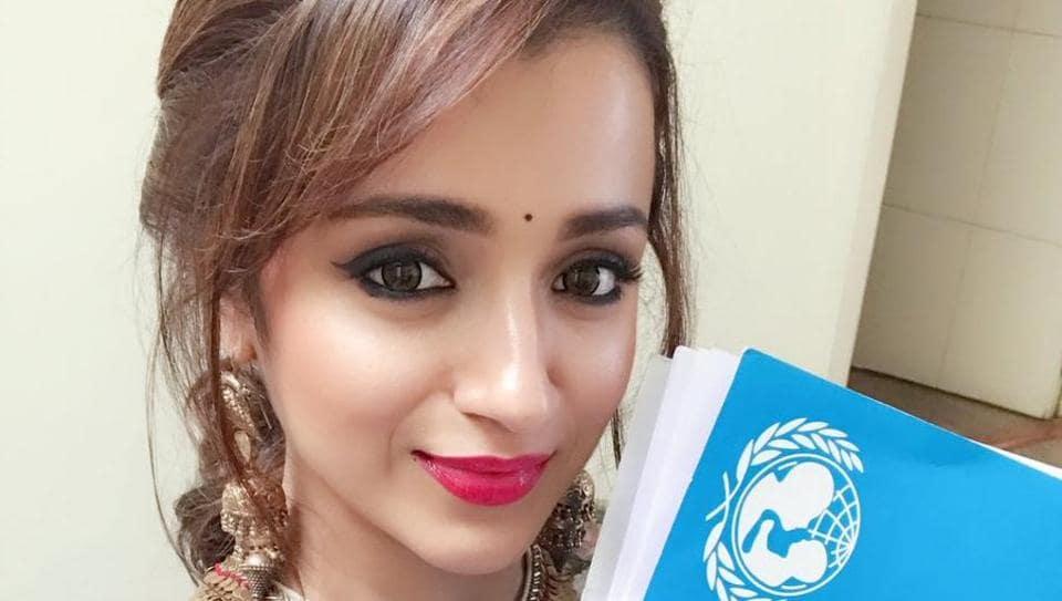 Trisha Krishnan,UNICEF celebrity advocate status,Tamil Nadu