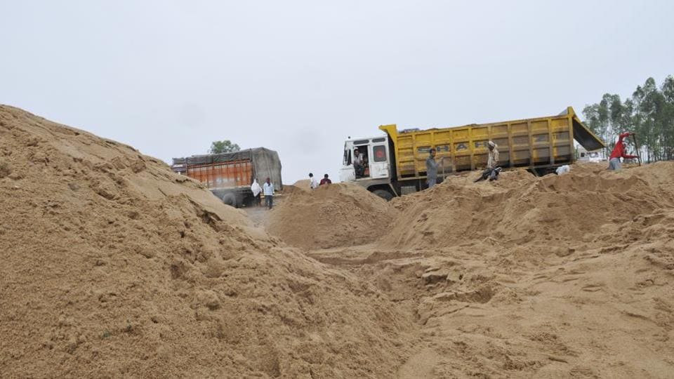 Mafia henchmen,sand mining mafia,punjab sand mining