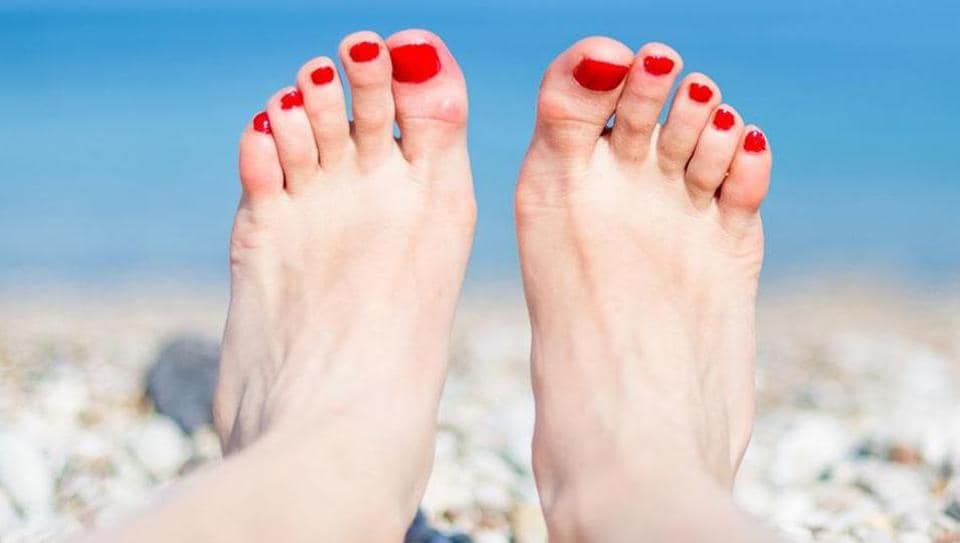 One of the major causes of cracked heels is the lack of adequate moisture content in the skin.