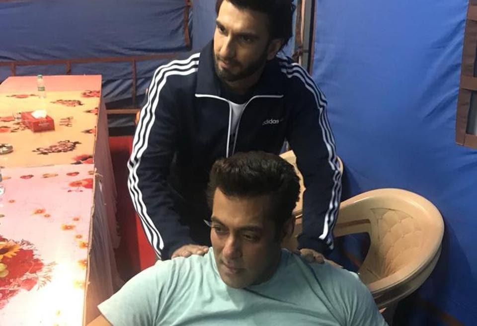 Ranveer Singh,Salman Khan,Race 3