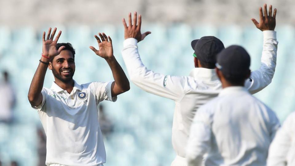 Bhuvneshwar Kumar and Shikhar Dhawan have been released from the Indian Test team for the Sri Lanka series.