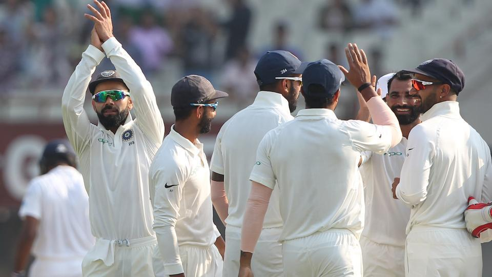 With a little over a session left to play, the match seemed to be heading for a draw. (BCCI)