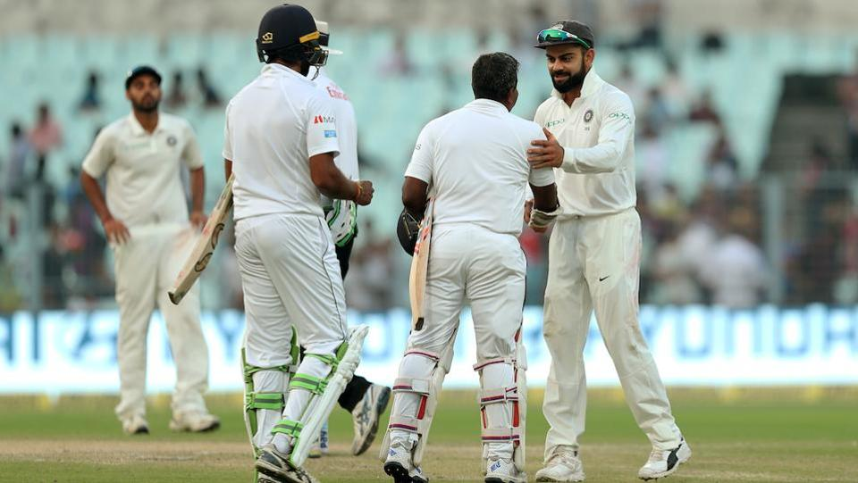 However, bad light stopped play in the evening as Sri Lanka escaped with a draw. (BCCI)