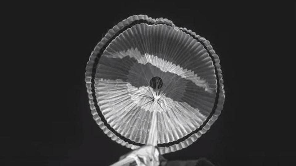 NASA,Mars 2020,Parachute test