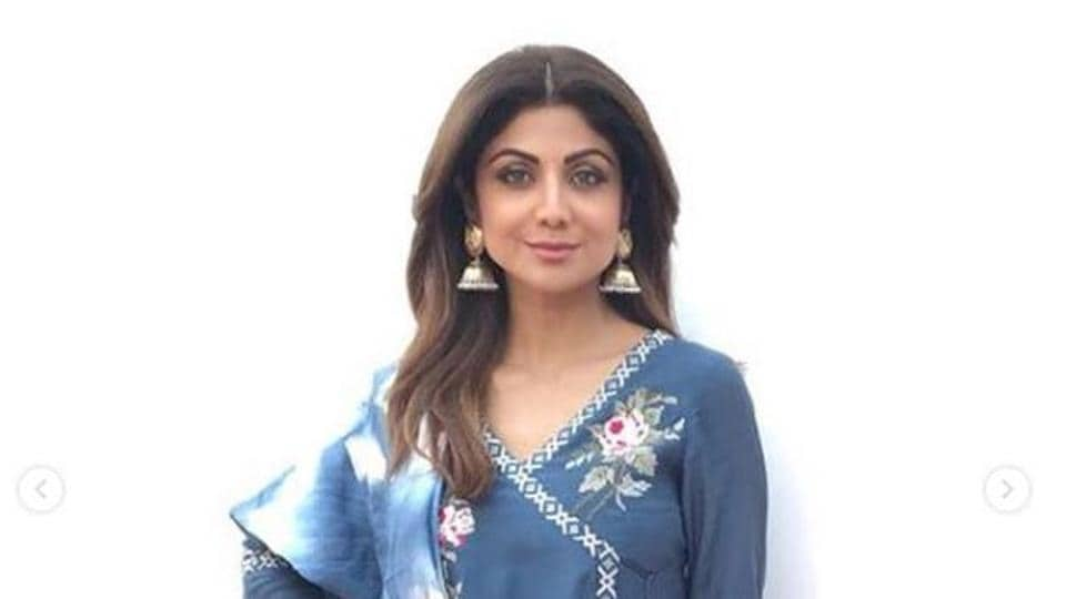 Shilpa Shetty's flowy lady-like kurta really wowed us, but really, it is all about the sharara.