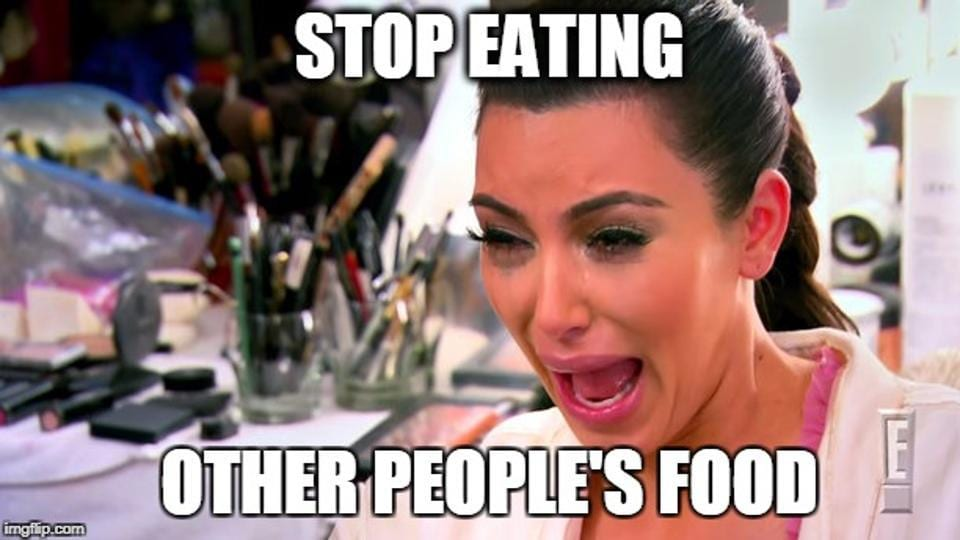 Food Snitcher,Eating from other people's plate,Here's why you like to eat from other people's plates