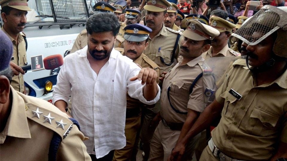 File photo of Malyalam actor Dileep in Kochi.
