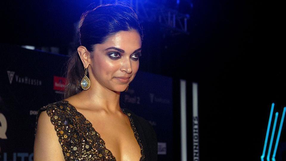 Actor Deepika Padukone attends the Van Heusen GQ Fashion Nights 2017 in Mumbai.