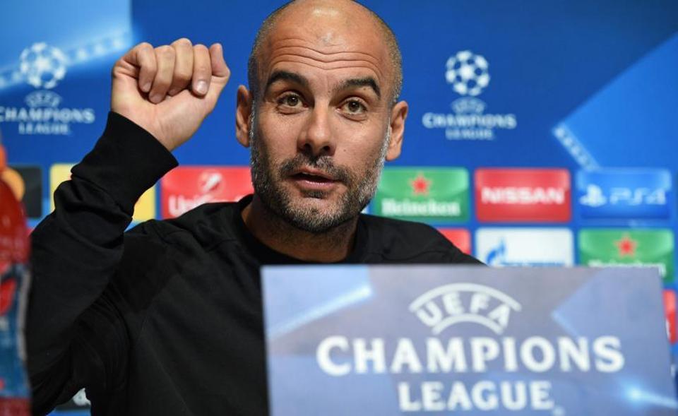 Manchester City,Champions League,Pep Guardiola