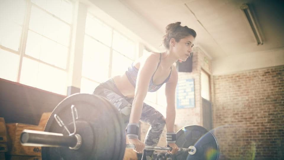Compound exercises target multiple muscle groups whereas isolation exercises targets a single muscle group.