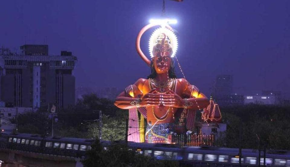 Hanuman statue,Delhi HC,Karol Bagh