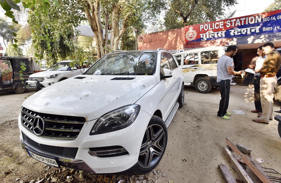 Gurgaon police hide behind procedures as real owner of Mercedes ...