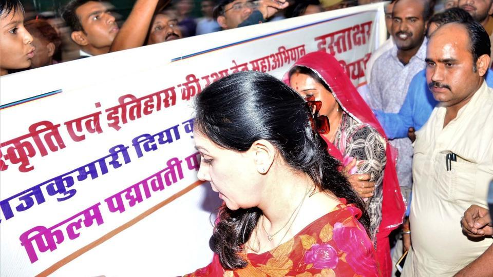 Padmavati row,Diya Kumari,Deepika Padukone